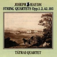 SIX STRING QUARTETS OP.1,2,42,103/ TATRAI QUARTET [하이든: 현악 4중주 OP.1,2,42,103]