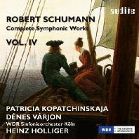 COMPLETE SYMPHONIC WORKS VOL.4/ PATRICIA KOPATCHINSKAJA, DENES VARJON, HEINZ HOLLIGER [슈만: 관현악 4집 <바이올린 협주곡>]