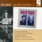 QUARTET FOR PIANO AND STRINGS/ LONDON STRING QUARTET, IDIL BIRET [ARCHIVE EDITION 5]