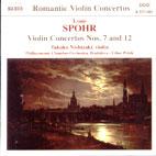 VIOLIN CONCERTOS NOS.7 & 12/ LIBOR PESEK
