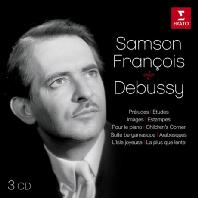 DEBUSSY: PIANO WORKS [드뷔시: 피아노 작품집 - 상송 프랑스와]