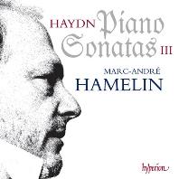 PIANO SONATAS 3/ MARC-ANDRE HAMELIN