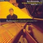 CONCERTOS POUR PIANO 1 & 4/ BORIS BEREZOVSKY/ DMITRI LISS