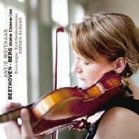VIOLIN CONCERTOS/ ANTJE WEITHAAS, STEVEN SLOANE [베토벤 & 베르크: 바이올린 협주곡]
