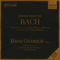 VIOLIN CONCERTOS BWV1041,1042,1043/ DAVID OISTRAKH, RUDOLF BARSHAI [바흐: 바이올린 협주곡 - 다비드 오이스트라흐]