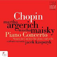 PIANO CONCERTO & SONATA FOR PIANO AND CELLO/ MARTHA ARGERICH, MISCHA MAISKY [쇼팽: 피아노 협주곡 1번 & 첼로 소나타 - 아르헤리치, 마이스키]