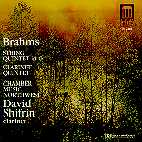 CLARINET QUINTET/ STRING/ QUINTET IN G/ CHAMBER MUSIC NORTHWEST