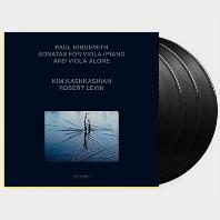 SONATAS FOR VIOLA AND PIANO/ KIM KASHKASHIAN [힌데미트: 비올라 소나타집 - 킴 카쉬카쉬안] [140G LP]