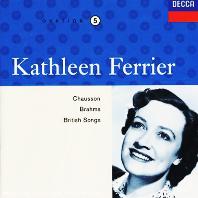 EDITION VOL.5: CHAUSSON, BRAHMS, BRITISH SONGS [캐슬린 페리어 5집: 쇼송, 브람스, 브리티쉬 송]