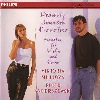 SONATAS FOR VIOLIN AND PIANO/ VIKTORIA MULLOVA, PIOTR ANDERSZEWSKI [드뷔시, 야나체크, 프로코피에프: 바이올린 소나타 - 뮬로바, 안데르체프스키]