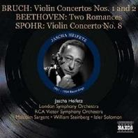 VIOLIN CONCERTOS/ JASCHA HEIFETZ