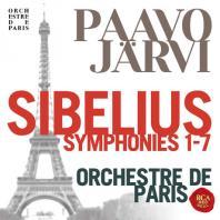 SYMPHONIES 1-7/ PAAVO JARVI [시벨리우스: 교향곡 전집 - 파보 예르비 & 파리 관현악단]