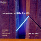 FROM THE DIARY OF BELA BARTOK/ JAN MICHIELS