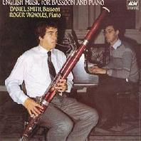 ENGLISH MUSIC FOR BASSOON & PIANO/ ROGER VIGNOLES