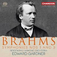 SYMPHONIES NOS.1 & 3/ EDWARD GARDNER [SACD HYBRID] [브람스: 교향곡 1, 3번 - 에드워드 가드너]