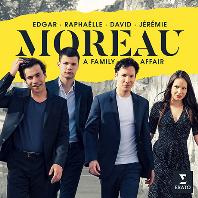 A FAMILY AFFAIR/ EDGAR MOREAU [드보르작: 바가텔 & 코른골트: 모음곡 - 에드가 모로 & 패밀리]