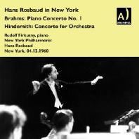 PIANO CONCERTO NO.1/ RUDOLF FIRKUSNY, HANS ROSBAUD