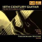 18TH CENTURY GUITAR/ FRIEDEMANN WUTTKE