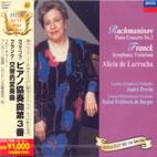 PIANO CONCERTO NO.3/ SYMPHONIC VARIATIONS/ ALICIA DE LARROCHA