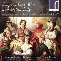 SONGS OF LOVE, WAR AND MELANCHOLY/ ANNEKE SCOTT, STEVEN DEVINE, LUCY CROWE [갈레이: <사랑의 묘약> 환상곡, 노르마 주제에 의한 화려한 환상곡]