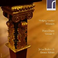 PIANO DUETS VOL.1/ JULIAN PERKINS, EMMA ABBATE [모차르트: 두 대의 피아노를 위한 소나타 & J.C. 바흐: 소나타 A장조]
