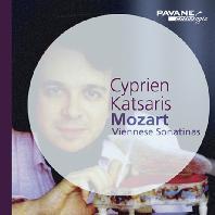 SIX VIENNESE SONATINAS/ CYPRIEN KATSARIS [모차르트: 6곡의 빈 소나티네 - 시프리앙 카차리스]