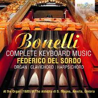 COMPLETE KEYBOARD MUSIC/ FEDERICO DEL SORDO [보넬리: 키보드 음악 전집 - 페데리코 델 소르도]