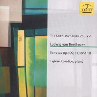 SONATAS OP.109, 110 AND 111/ EVGENI KOROLIOV [코롤리오프 16집: 베토벤 피아노 소나타]
