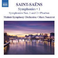 SYMPHONIES NOS.1 AND 2 & PHAETON/ MARC SOUSTROUT [생상스: 교향곡 1 & 2번, 교향시 '파에통']