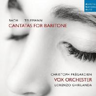 CANTATAS FOR BARITONE/ CHRISTOPH PREGARDIEN [바흐 & 텔레만: 바리톤을 위한 칸타타 - 크리스토프 프레가르디엔]