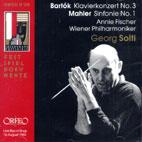 KLAVIERKONZERT NO.3/ SINFONIE NO.1/ ANNIE FISCHER/ GEORG SOLTI