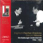 SALZBURGER LIEDERABENDE 1956-1965