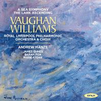 A SEA SYMPHONY & THE LARK ASCENDING/ JAMES EHNES, ANDREW MANZE [본 윌리엄스: 교향곡 1번 <바다>, 종달새의 비상 - 에네스, 맨지]
