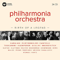 PHILHARMONIA ORCHESTRA: BIRTH OF A LEGEND [필하모니아 오케스트라 전설의 탄생]