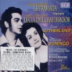 LA TRAVIATA/ PLACIDO DOMINGO/ JOAN SUTHERLAND/ RICHARD BONYNGE