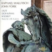WORKS FOR CELLO & PIANO/ RAPHAEL WALLFISCH, JOHN YORK