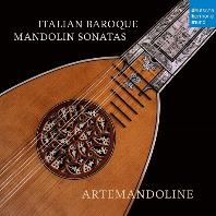 ITALIAN BAROQUE MANDOLIN SONATAS/ ARTEMANDOLINE [이탈리안 바로크 만돌린 소나타집 - 아르테만돌린]