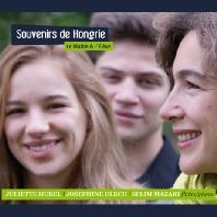 SOUVENIRS DE HONGRIE/ JOSEPHINE OLECH, SELIM MAZARI [헝가리에서의 추억: 플루트 듀오 & 플루트와 피아노 협주곡]