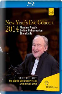 NEW YEAR'S EVE CONCERT 2014/ MENAHEM PRESSLER, SIMON RATTLE [2014 신년 이브 콘서트: 메나헴 프레슬러]