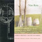 CONCERTO PER VIOLONCELLO NO.2, TRIO PER CLARINETTO CELLO & PIANO/ ENRICO BRONZI