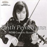 WDR CONCERTO RECORDINGS: BEETHOVEN, PROKOFIEV, MENDELSSOHN [에디트 파이네만: 바이올린 명협주곡집]