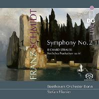 ORCHESTRAL WORKS/ STEFAN BLUNIER [SACD HYBRID] [슈트라우스 & 슈미트: 축전서곡, 교향곡 2번 - 슈테판 블루니에]