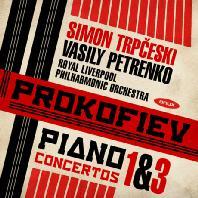 PIANO CONCERTOS NOS.1 & 3/ SIMON TRPCESKI, VASILY PETRENKO [프로코피에프: 피아노 협주곡 1, 3번, 히브리 주제에 의한 서곡 - 시몬 트르프체스키, 바실리 페트렌코]
