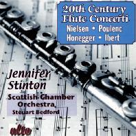 20TH CENTURY FLUTE CONCERTI/ JENNIFER STINTON, STEUART BEDFORD
