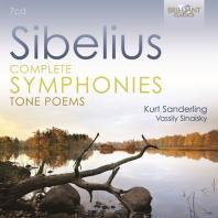 COMPLETE SYMPHONIES TONE POEMS/ KURT SANDERLING [시벨리우스: 교향곡과 교향시 전곡 - 잔데를링]