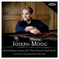 PIANO CONCERTO NO.1, FOUR PIECES FOR PIANO OP.119/ JOSEPH MOOG, NICHOLAS MILTON [브람스: 피아노 협주곡 1번, 소품집 - 요제프 무크]