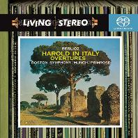 HAROLD IN ITALY & OVERTURES/ CHARLES MUNCH [SACD HYBRID] [LIVING STEREO] [베를리오즈: 이탈리아의 해롤드 - 샤를 뮌슈]