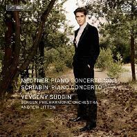 PIANO CONCERTOS/ YEVGENY SUDBIN, ANDREW LITTON [SACD HYBRID] [스크리아빈 & 메트너: 피아노 협주곡]