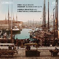 CELLO SONATA & SCANDINAVIAN SUITE/ ANDREAS BRANTELID [SACD HYBRID] [그리그: 첼로 소나타 & 그레인저: 스칸디나비아 모음곡]