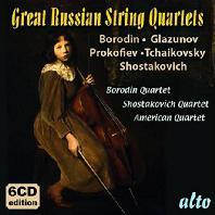 GREAT RUSSIAN STRING QUARTETS [러시아 작곡가들의 현악사중주 모음집]